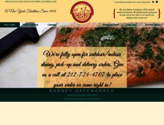 barneygreengrass.com screenshot