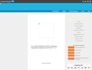 barno.mlap.hu screenshot