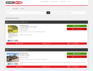 barnoneauction.hibid.com screenshot