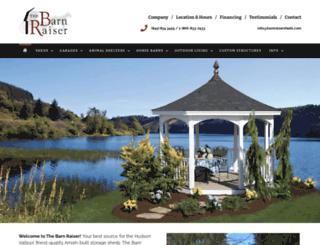 barnraisersheds.com screenshot