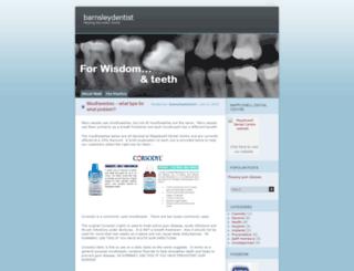 barnsleydentist.wordpress.com screenshot