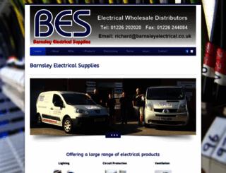 barnsleyelectrical.co.uk screenshot