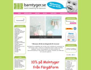 barntyger.se screenshot