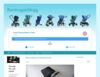 barnvagnsblogg.com screenshot
