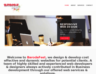 barodafest.com screenshot