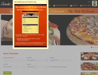 barodarestaurant.com screenshot