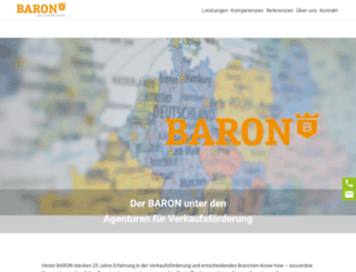barongmbh.com screenshot