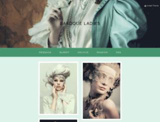 baroque-ladies.tumblr.com screenshot