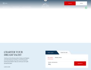 baroqueyachts.com screenshot
