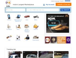 barrackpore.olx.in screenshot