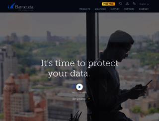 barracudacentral.com screenshot