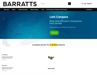 barratts.co.uk screenshot