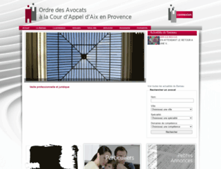 barreau-aixenprovence.avocat.fr screenshot
