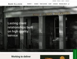 barrellison.co.uk screenshot