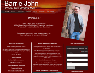 barriejohn.com screenshot