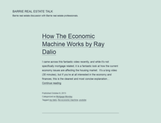 barrierealestatetalk.ca screenshot