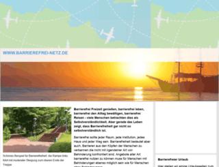 barrierefrei-netz.de screenshot