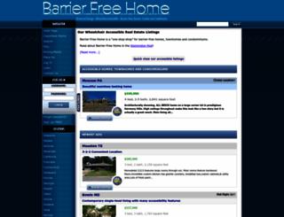 barrierfreehome.com screenshot