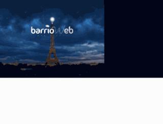 barrioweb.com screenshot