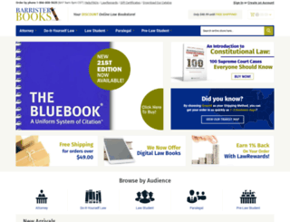 barristerbooks.com screenshot