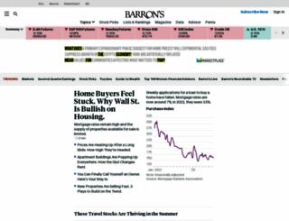 barrons.com screenshot