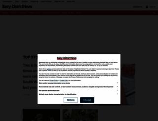 barryanddistrictnews.co.uk screenshot