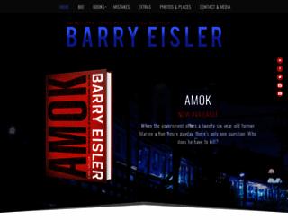 barryeisler.com screenshot