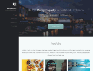 barryfogarty.com screenshot