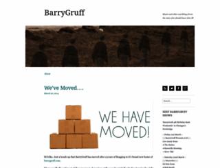 barrygruff.wordpress.com screenshot