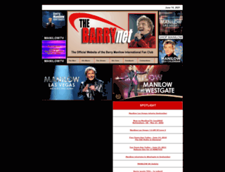 barrynethomepage.com screenshot