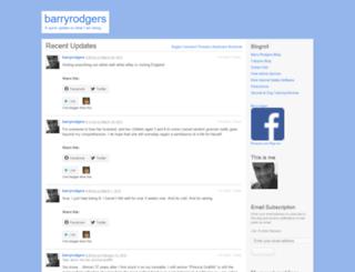 barryrodgers.wordpress.com screenshot