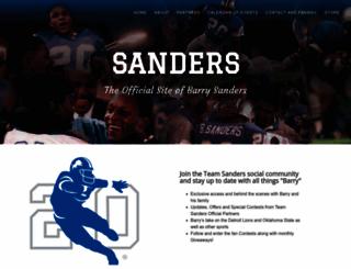 barrysanders.com screenshot