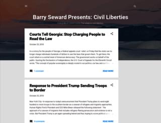barryseward.com screenshot