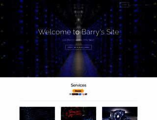 barryswebsite.weebly.com screenshot