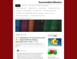 barsetshirediaries.wordpress.com screenshot