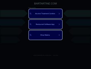bartartine.com screenshot