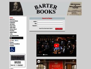 barterbooks.co.uk screenshot