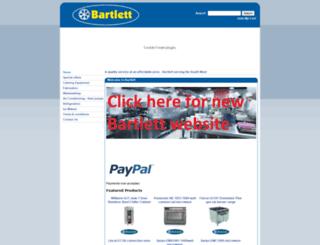 bartlett.uk.com screenshot