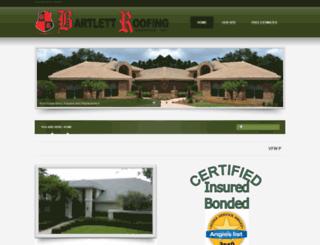 bartlettroofingcontractors.com screenshot