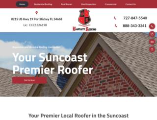 bartlettroofingservices.com screenshot
