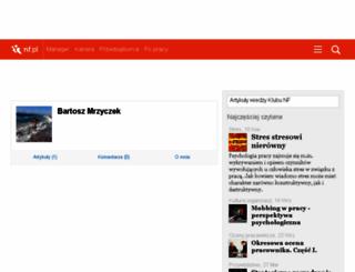 bartosz.mrzyczek.nf.pl screenshot