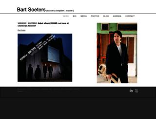 bartsoeters.com screenshot