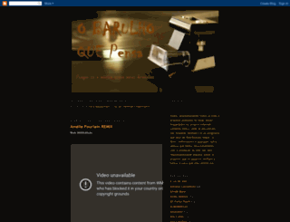 barulhoquemove.blogspot.com screenshot