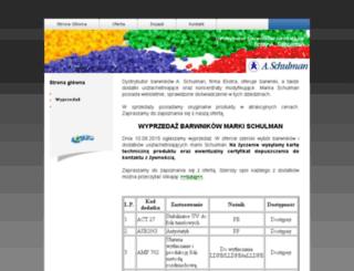 barwnikischulman.pl screenshot