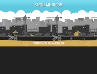 barzin-mehr.com screenshot