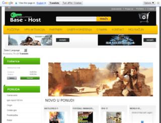 base-host.com.hr screenshot