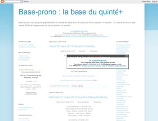 base-prono.blogspot.com screenshot