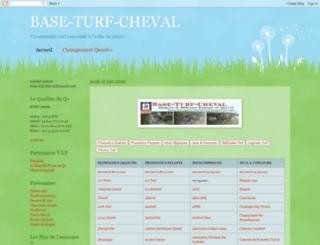 base-turf-cheval.blogspot.fr screenshot