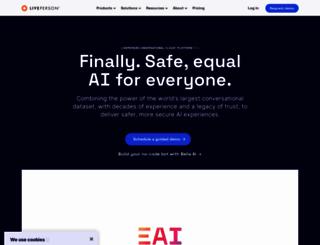 base.liveperson.net screenshot