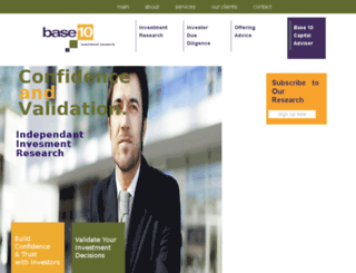 base10research.com screenshot